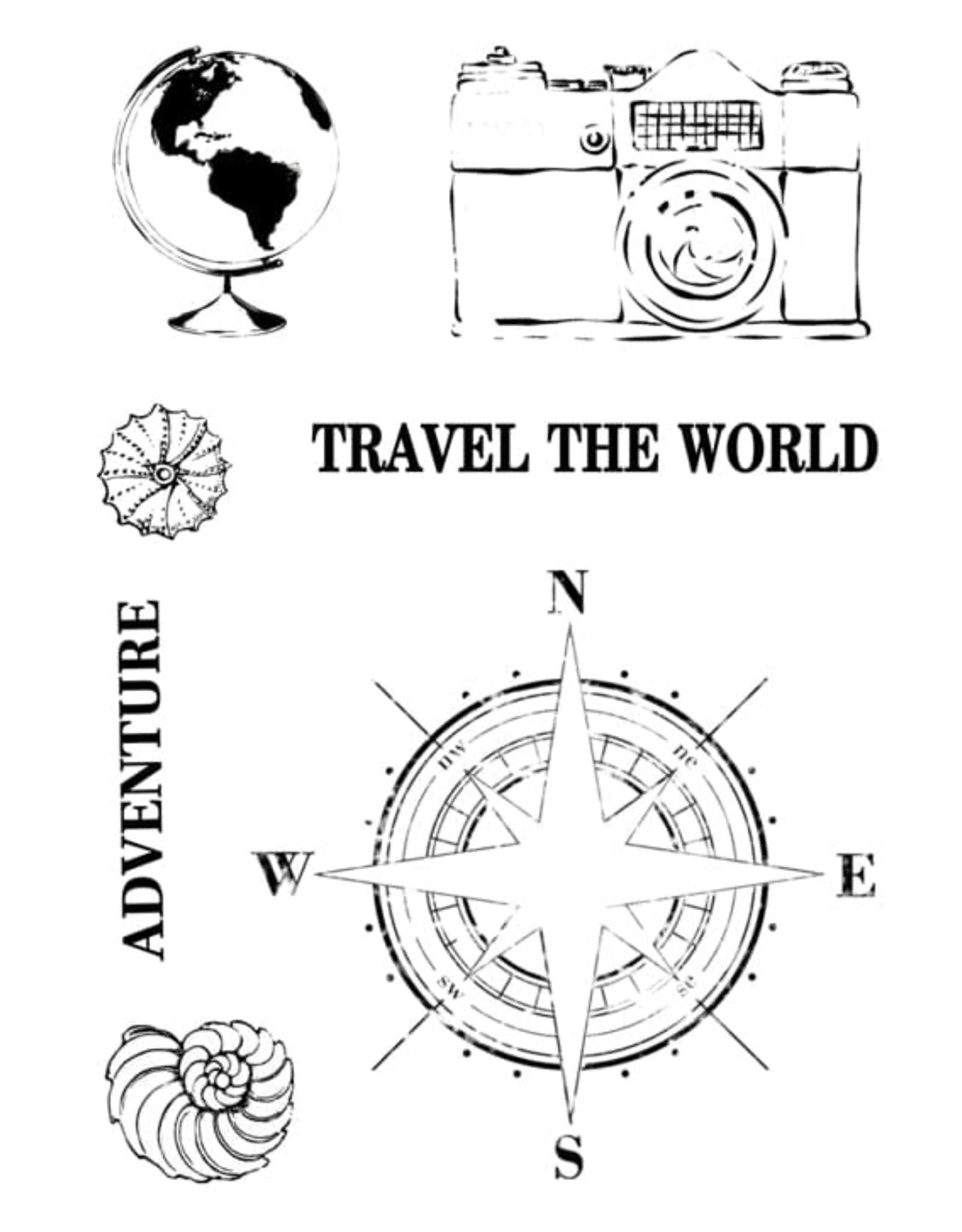 13@rts 13@rts Stamp A7 Around the Globe