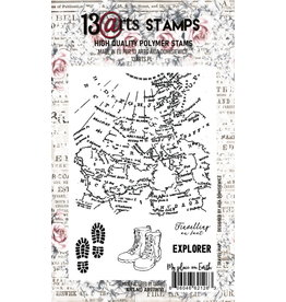 13@rts 13@rts Stamp A6 Travel map