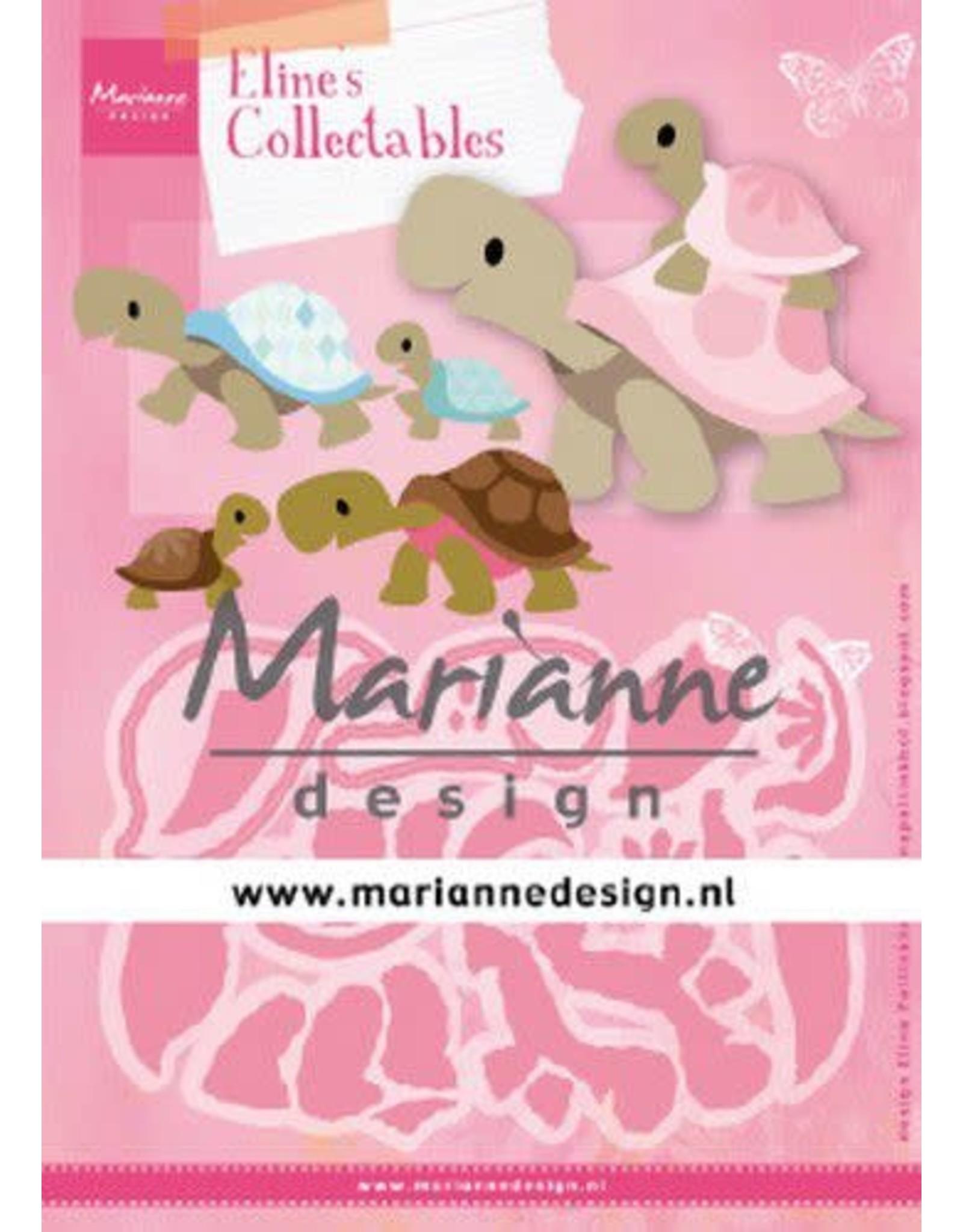 Marianne Design Marianne D Collectable Eline's schildpadden COL1480 112x85mm