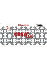 Crealies Crealies Stencilzz no. 206 ornamentjes CLST206 61 x 151mm