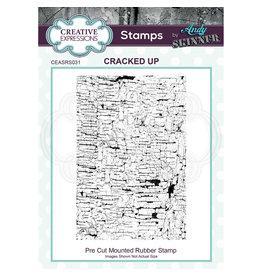 Creative Expressions Creative Expressions • Pre cut rubber stamp Andy Skinner Cracked up