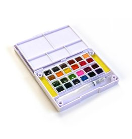 Elizabeth Craft Designs Elizabeth Craft Designs Watercolor Palette, 24 colors WC01