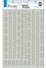 Pronty Pronty Chipboard Chains A5 492.010.016 by Jolanda