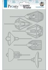 Pronty Pronty Chipboard Lamps A5 492.010.015 by Jolanda