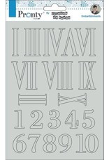 Pronty Pronty Chipboard Numbers A5 492.010.014 by Jolanda