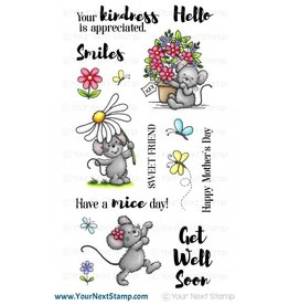 Your Next Stamp Your Next Stamp flowers and smiles CYNS640