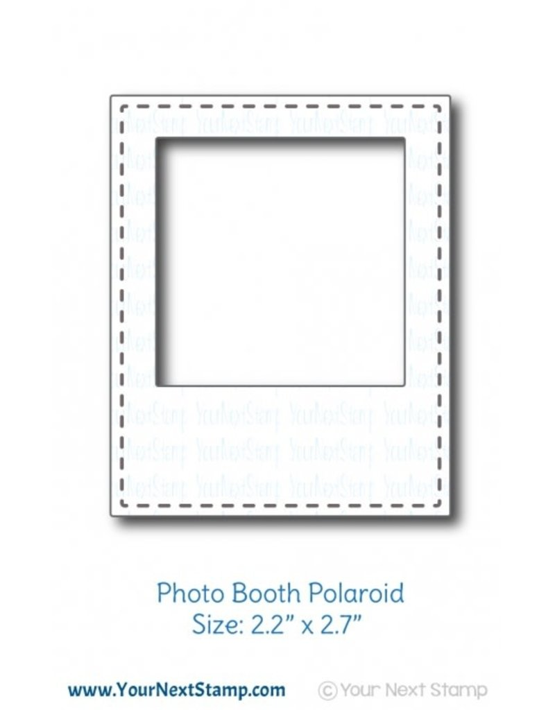 Your Next Stamp Your Next Stamp Photo Booth Polaroid YNSD735