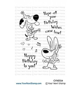 Your Next Stamp Your Next Stamp Birthday song CYNS724