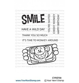 Your Next Stamp Your Next Stamp Cheeky Monkey CYNS758