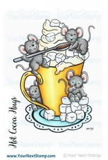 Your Next Stamp Your Next Stamp Hot cocoa hugs CYNS491