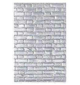 Sizzix Sizzix - 3-D Texture Fades Embossing Folder Brickwork 664259 Tim Holtz