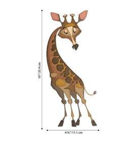 Sizzix Sizzix - Thinlits Die Set 10PK  Gertrude, Colorize 664429 Tim Holtz