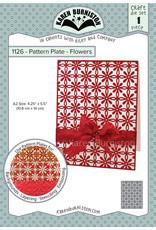 Karen Burniston Karen Burniston Pattern Plates Flowers 1126