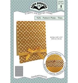 Karen Burniston Karen Burniston Pattern Plates Tiles 1125