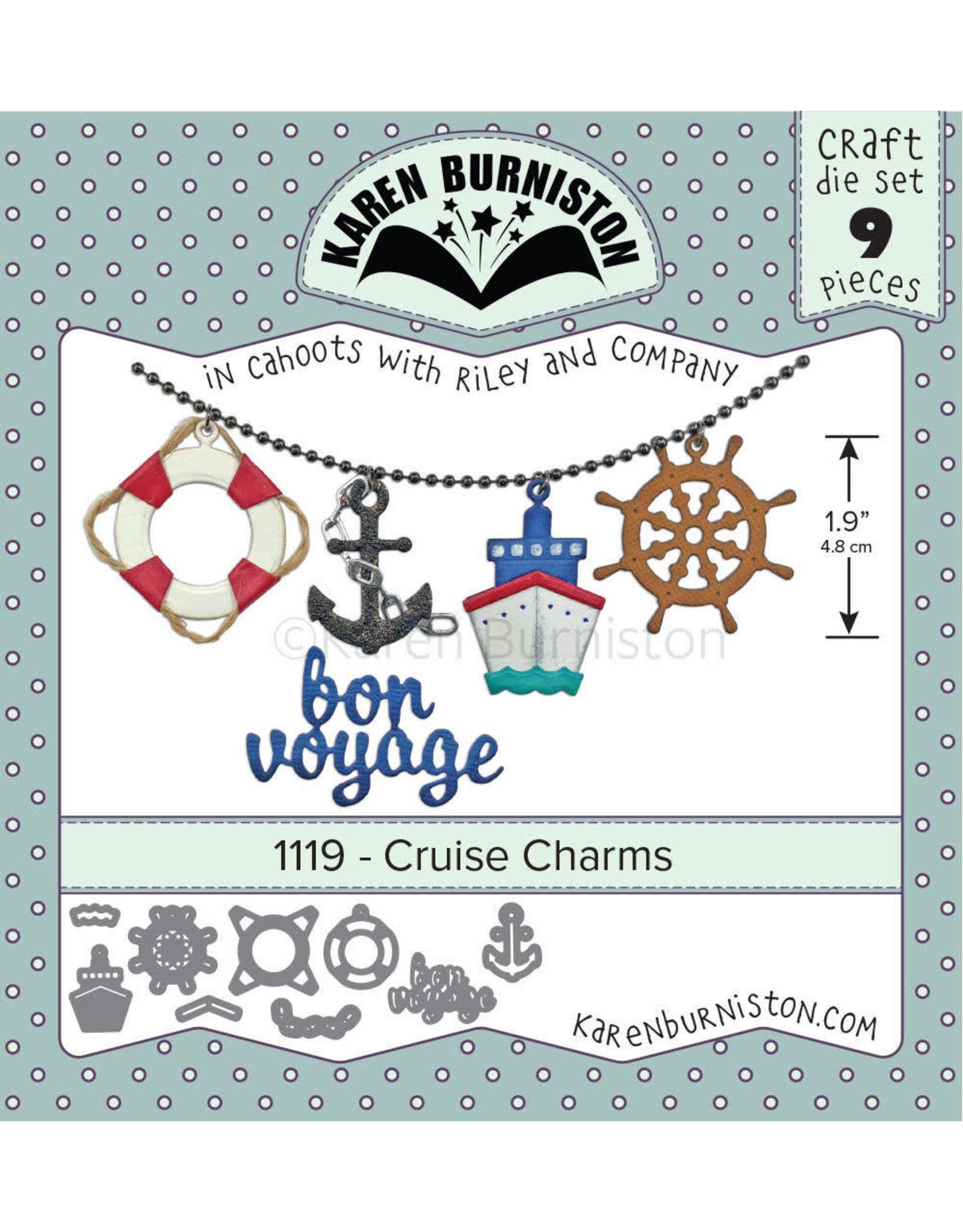 Karen Burniston Karen Burniston Cruise Charms 1119