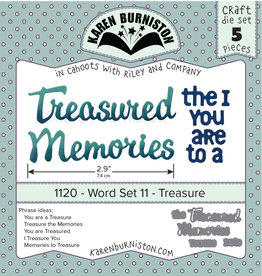 Karen Burniston Karen Burniston Word set 11 Treasure 1120