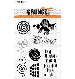 Studio Light Studio Light Stamp Grunge Collection 4 0 nr 451 STAMPSL451 210x74mm