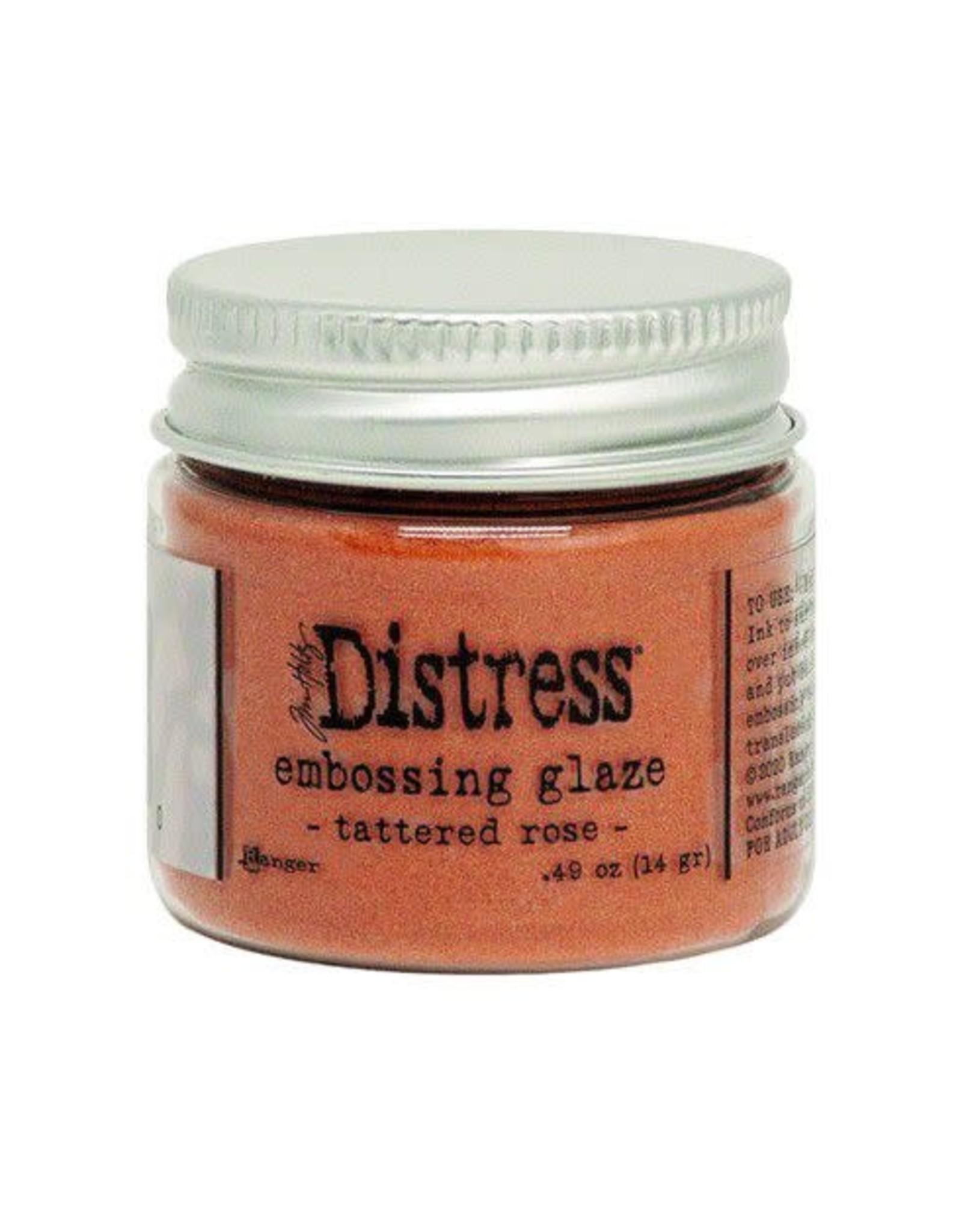 Ranger Ranger Distress Embossing Glaze Tattered Rose TDE71020 Tim Holtz