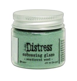 Ranger Ranger Distress Embossing Glaze Weathered Wood TDE71051 Tim Holtz