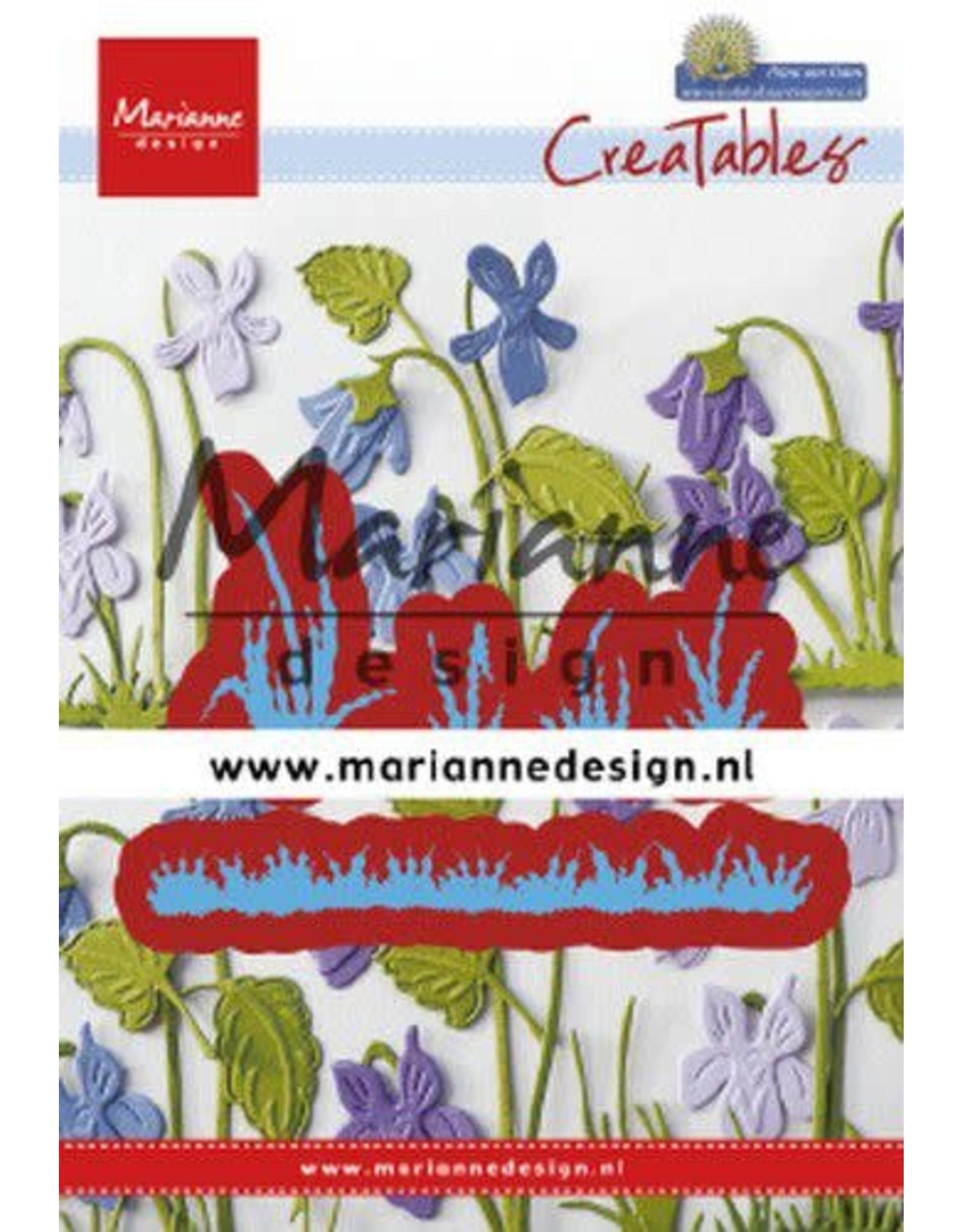 Marianne Design Marianne D Creatable Petra's gras LR0650 25,5x37,5mm - 77,5x12,5mm