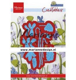 Marianne Design Marianne D Creatable Petra's viooltjes LR0649 63,5x90,5mm