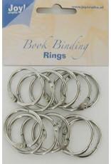 Joy Craft Joy! Crafts Boekbinders-ringen zilver 30mm 12st 6200/0122