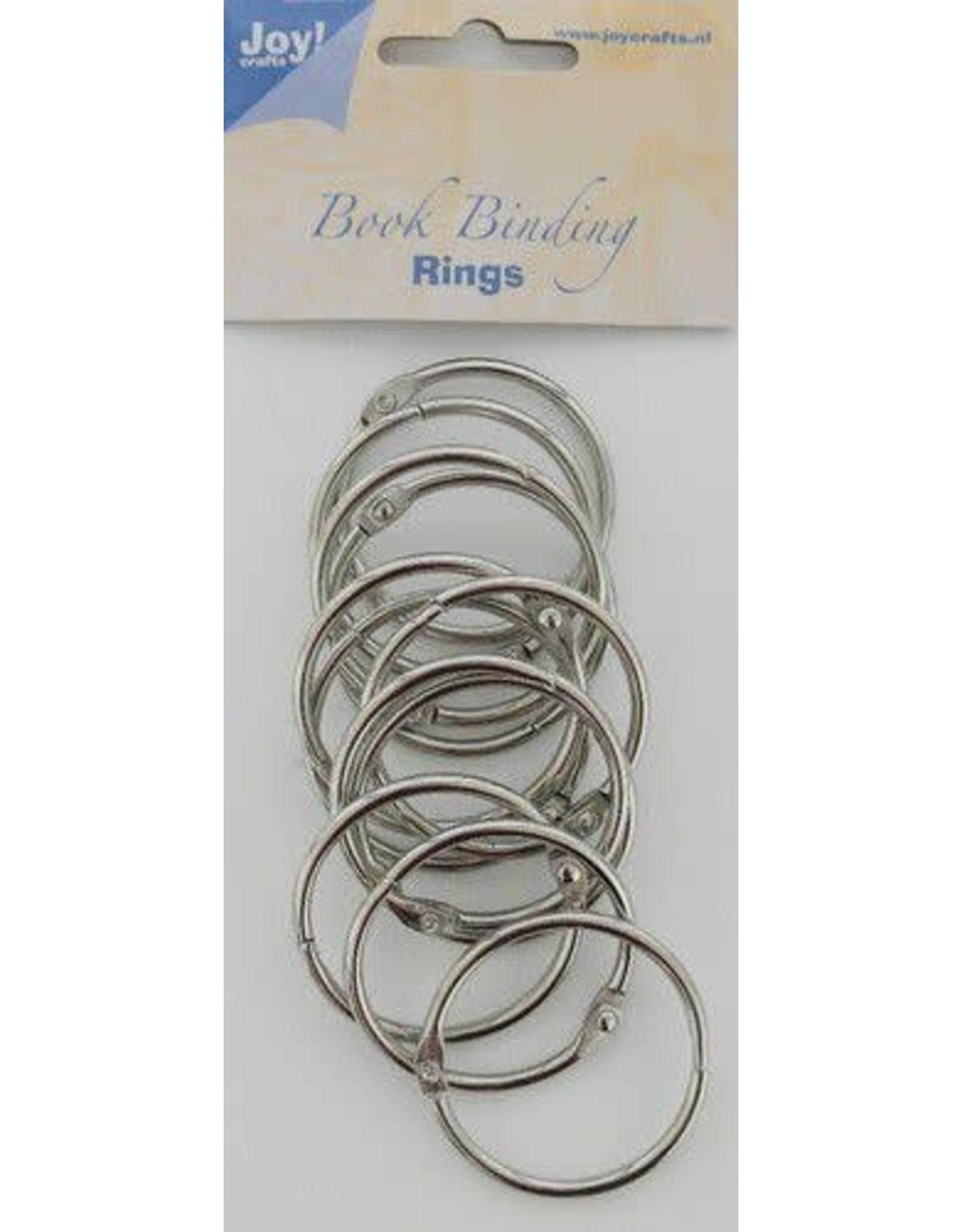 Joy Craft Joy! Crafts Boekbinders-ringen zilver 40mm 12st 6200/0123