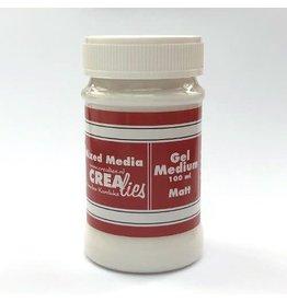 Crealies Crealies Mixed Media gel medium mat transparant 100 ml CLMM11 100 ml