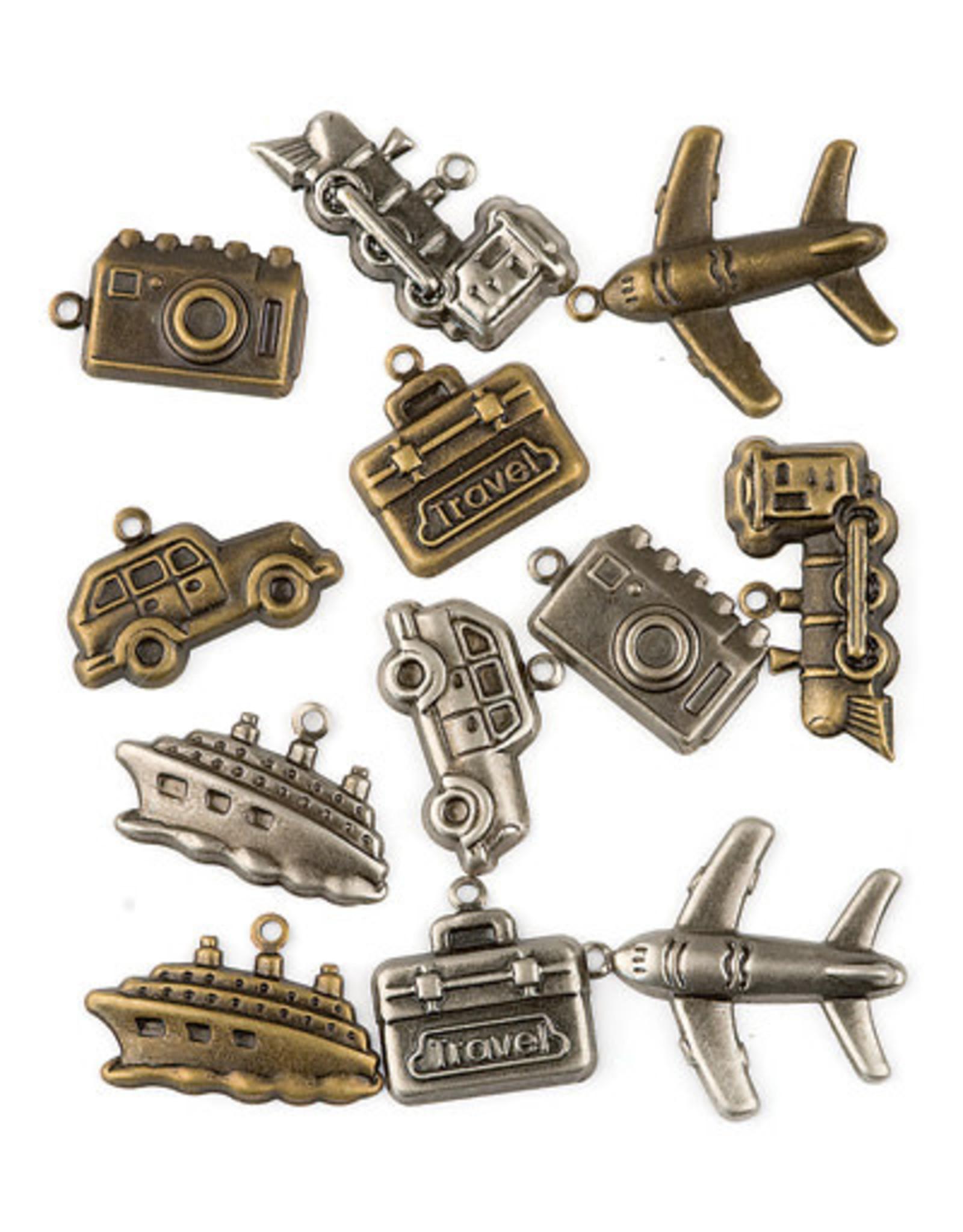 Hobby fun Hobbyfun Assortie, brons en zilver travel 11810-1005