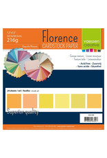 Vaessen Creative Florence • Cardstock multipack 30,5x30,5cm Geel