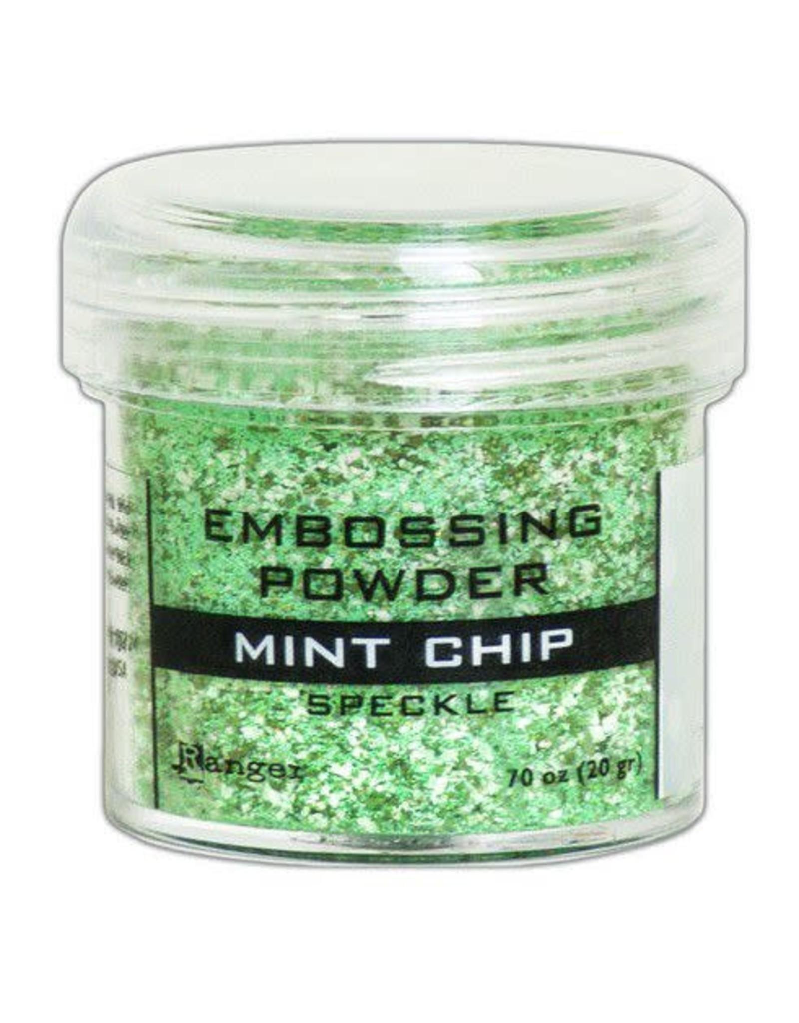 Ranger Ranger Embossing Speckle Powder 34ml - Mint Chip EPJ68679