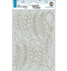 Pronty Pronty Chipboard Leaves A5 492.010.017 by Jolanda
