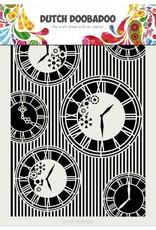Dutch Doobadoo Dutch Doobadoo Dutch Mask Art Clocks & Stripes A4 470.715.814