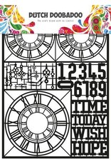Dutch Doobadoo Dutch Doobadoo Dutch Paper Art Clocks A5 472.950.007