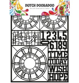 Dutch Doobadoo Dutch Doobadoo Dutch Paper Art Clocks A5 472.950.007