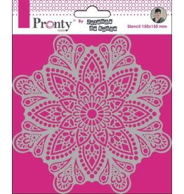 Pronty Pronty Mask Mandala 4 15x15 470.770.038 by Jolanda