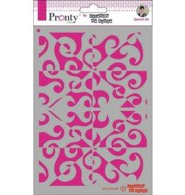 Pronty Pronty Mask Pattern background A5 470.770.039 by Jolanda