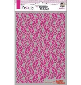 Pronty Pronty Mask Pattern leaves A5 470.770.041 by Jolanda
