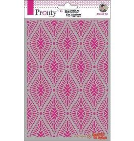 Pronty Pronty Mask Pattern oval A5 470.770.043 by Jolanda