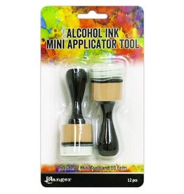Ranger Ranger Alcohol Ink Mini Applicator Tool (2pc/10 Felts) TAC62158 Tim Holtz
