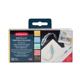Derwent Derwent Metallic Paint Pan Set DMP2305657