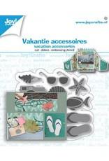 Joy Craft Joy! Crafts Snij-debos-embosstansmal - Vakantie accessoires 6002/1476 60x65 mm