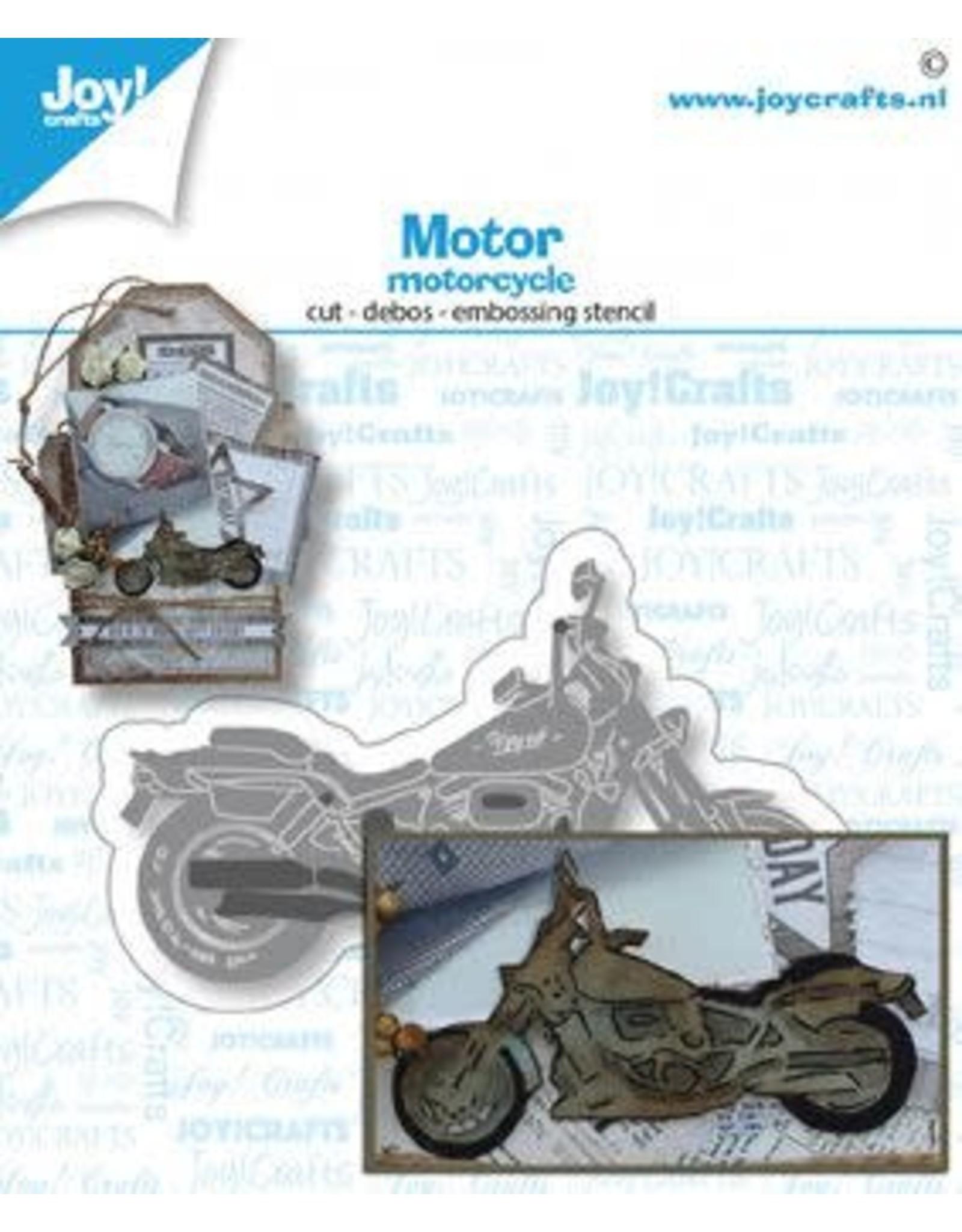 Joy Craft Joy! Crafts Snij-embosstansmal - Motor 6002/1512 75x44 mm