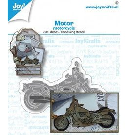 Joy Craft Joy! Crafts Snij-embosstansmal - Motor 6002/1512 75x44 mm