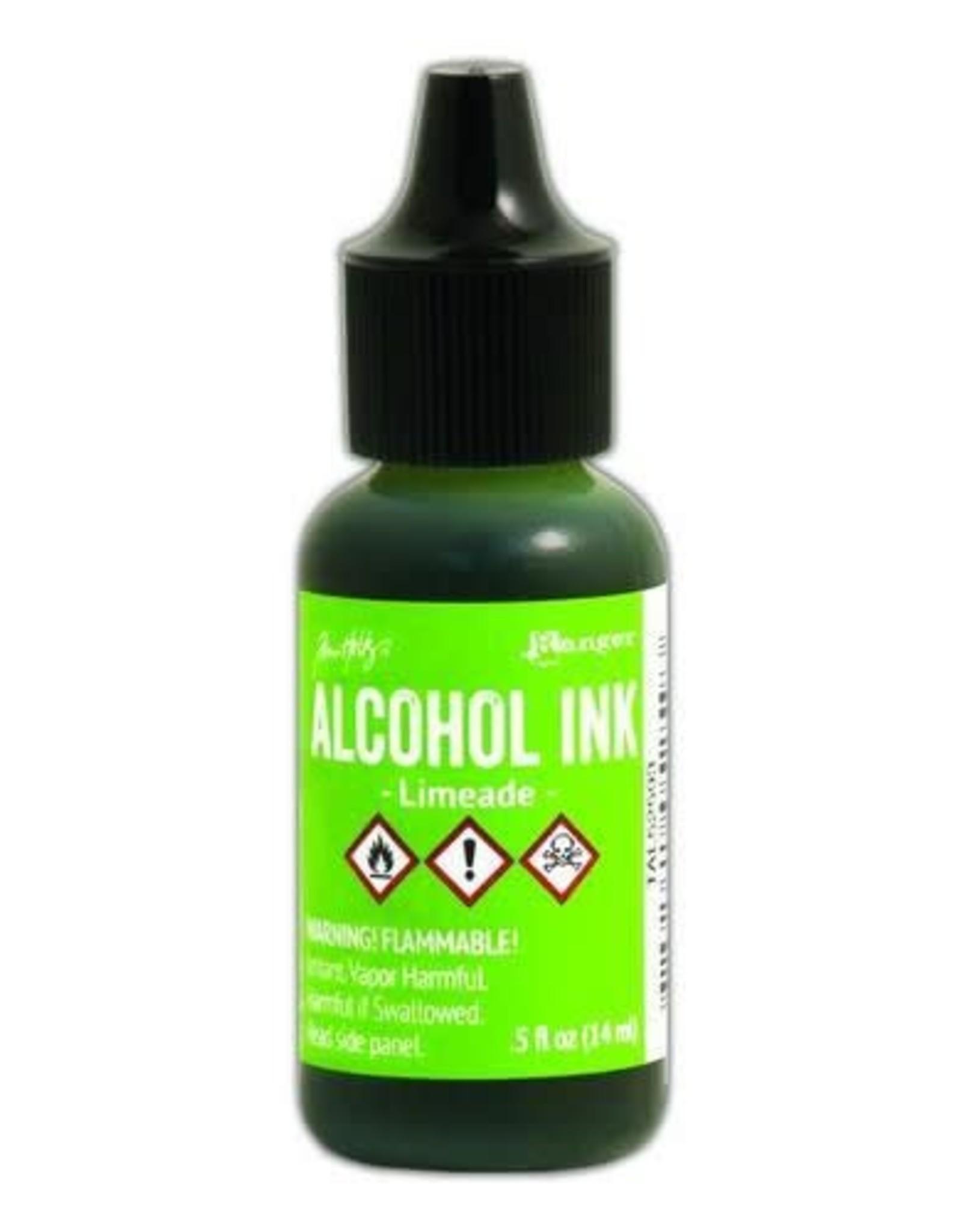 Ranger Ranger Alcohol Ink 15 ml - limeade TAL52593 Tim Holz