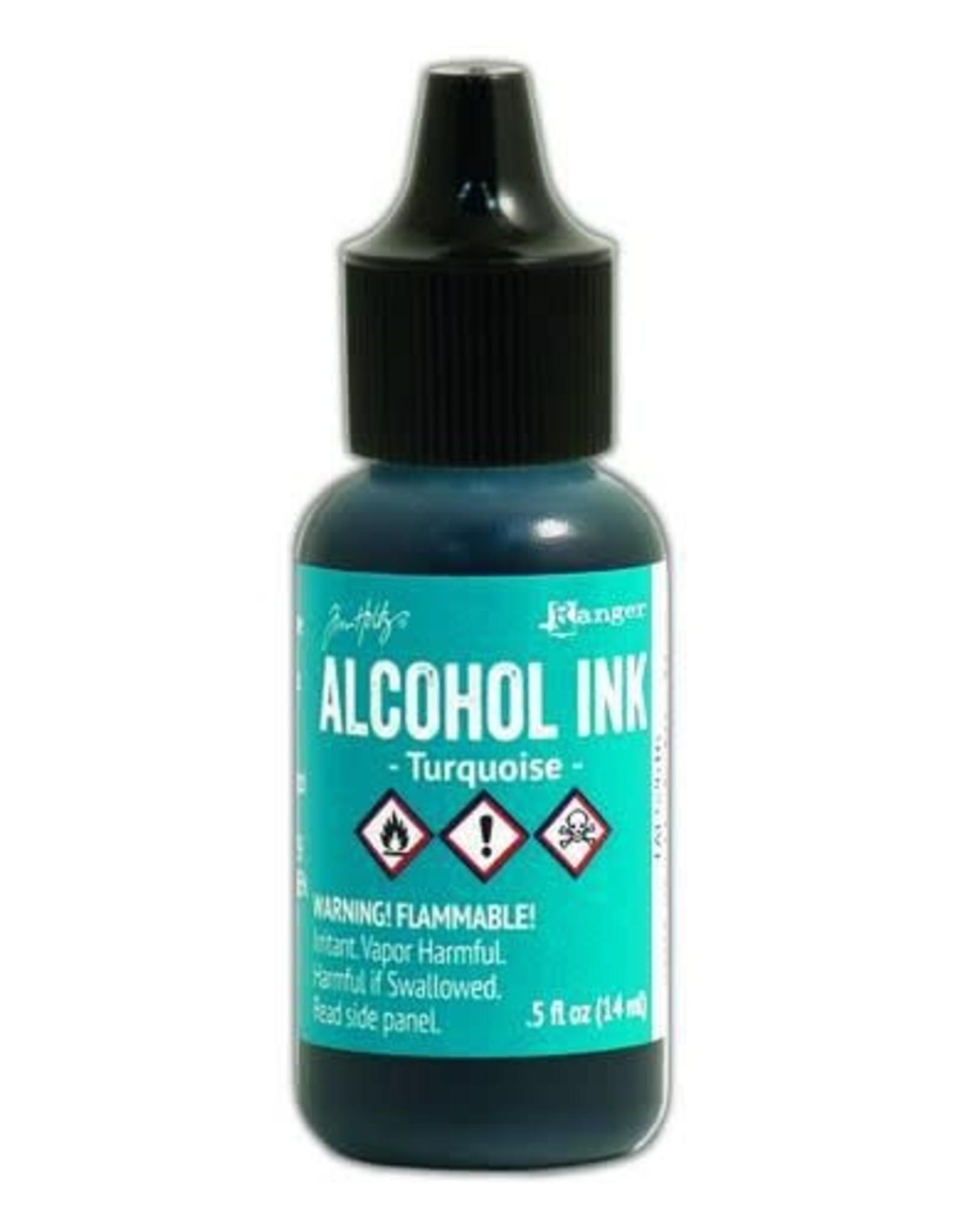 Ranger Ranger Alcohol Ink 15 ml - turquoise TAL52616 Tim Holz