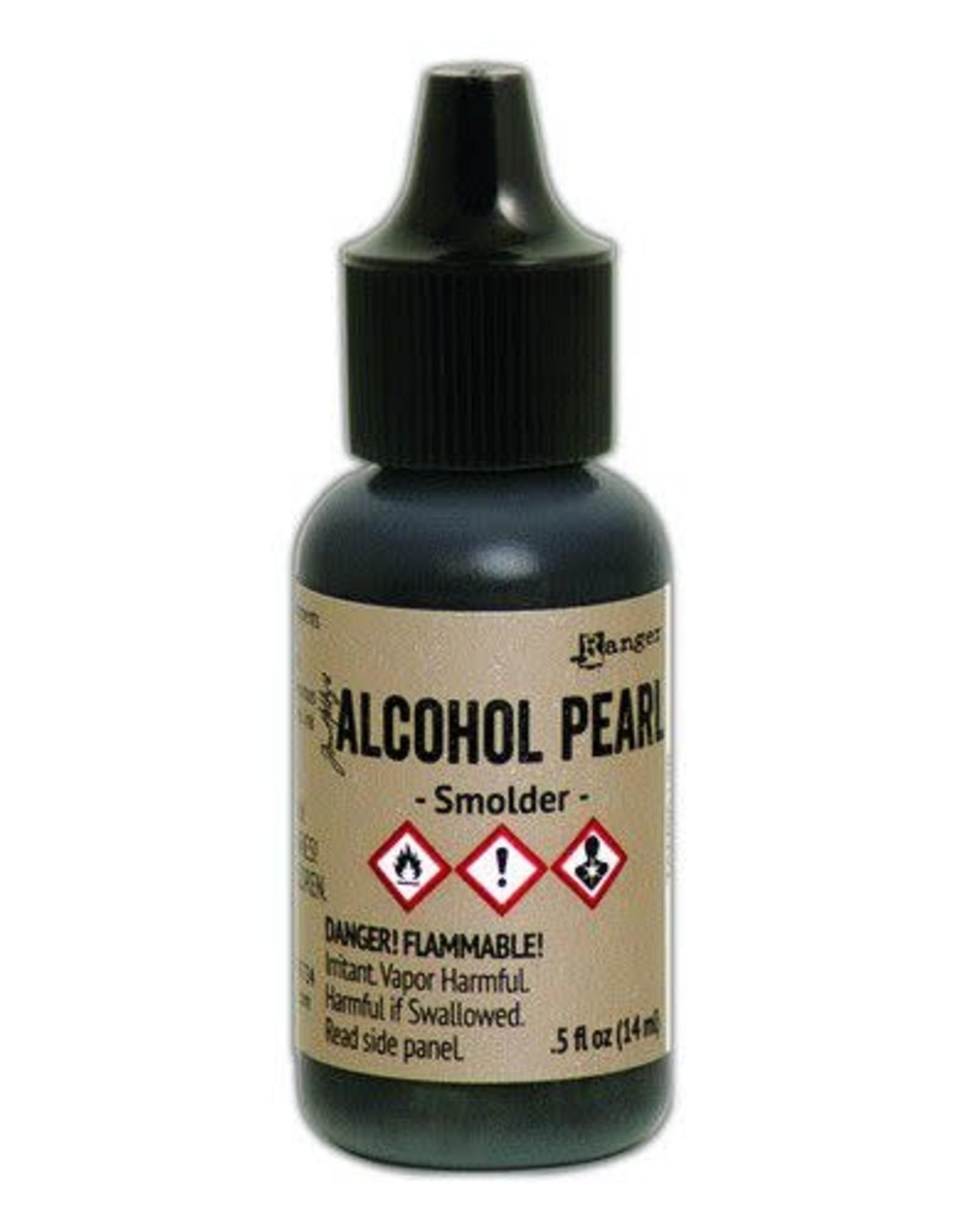 Ranger Ranger Alcohol Ink Pearl 15 ml - Smolder TAN65128 Tim Holtz