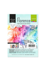 Vaessen Creative Florence • Aquarelpapier smooth Intense White A5 24pcs