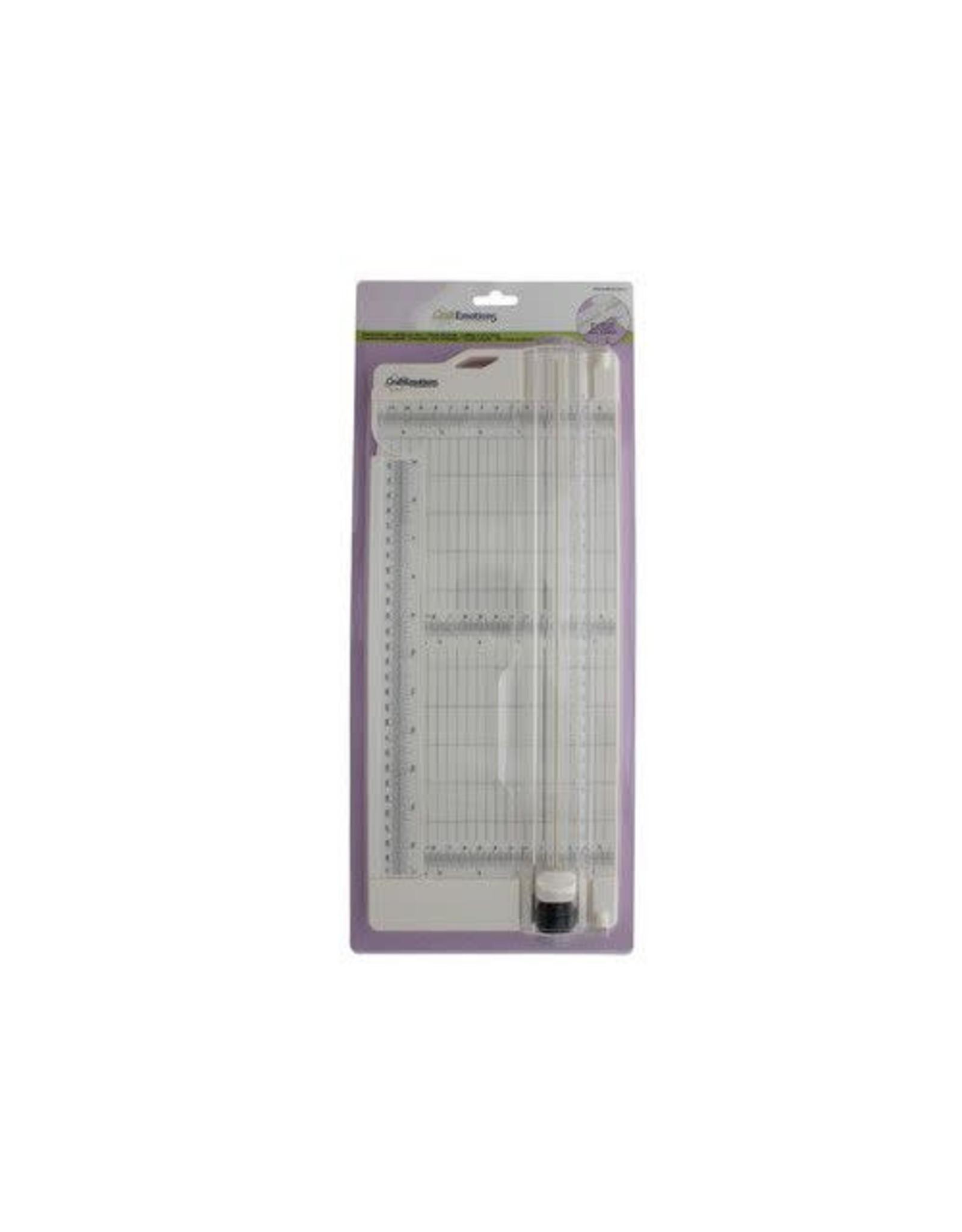 Craft Emotions CraftEmotions Paper Trimmer - snijden en rillen 11x30,5 cm