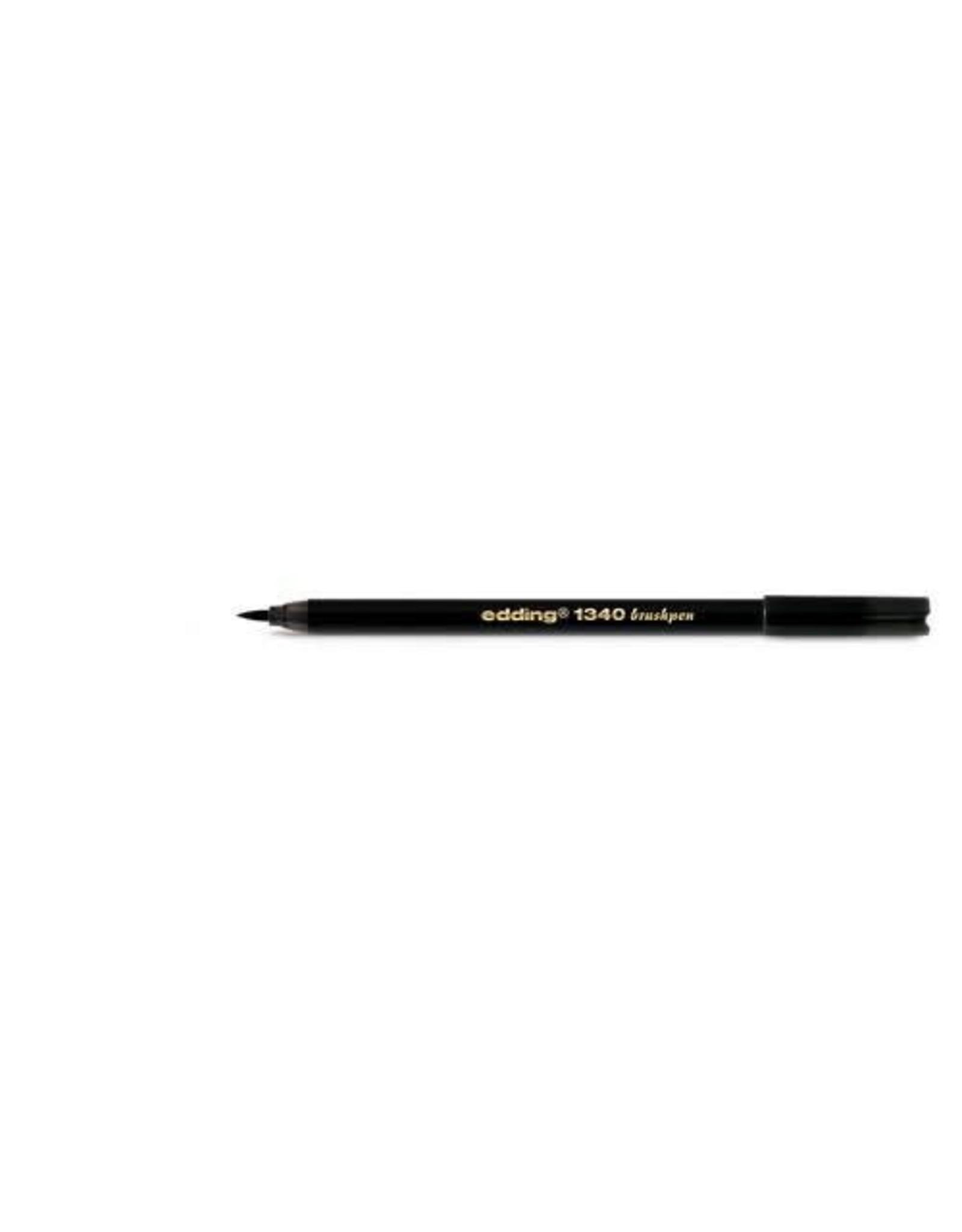 Edding edding-1340 brushpen zwart 1ST